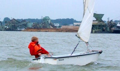 Rent the Optimist Sailing Dinghy in Kinrooi, Belgium