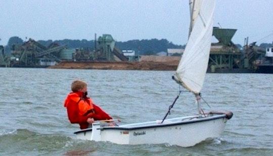 Rent The Optimist Sailing Dinghy In Kinrooi, Belgium