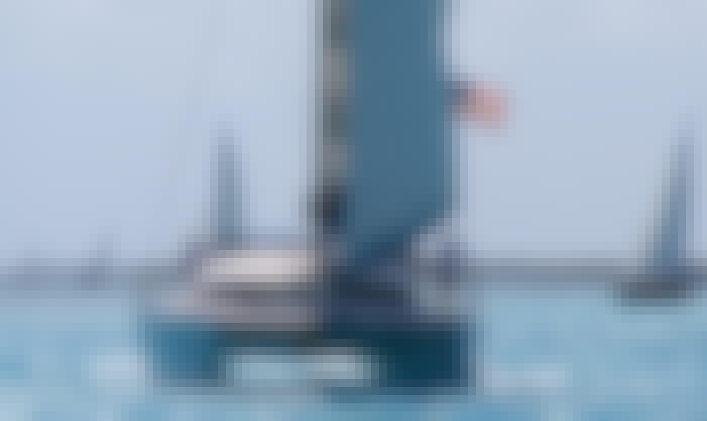 """Charter the """"Guiding Light"""", a Lagoon 410 Sailing Catamaran, in the Caribbean"""