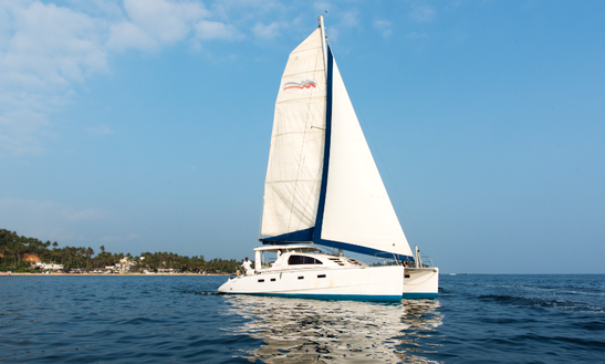 Charter 43' Ruby Cruising Catamaran In Mirissa, Sri Lanka