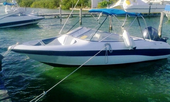 Rent The 18' Citali Bowrider In Cancún, Quintana Roo