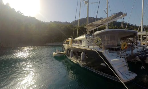 Skippered Catamaran Rental in Marmaris