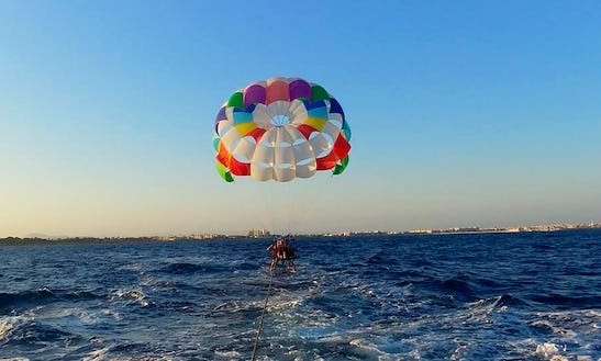 Enjoy Parasailing In Torrevieja, Spain
