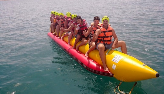 Enjoy Tubing In Torrevieja, Spain