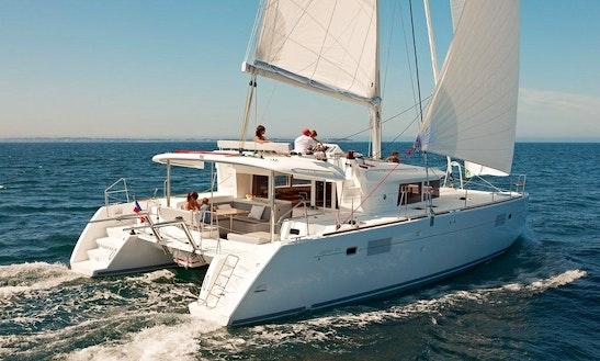 46' Lagoon Cruising Catamaran Rental In Horta, Portugal