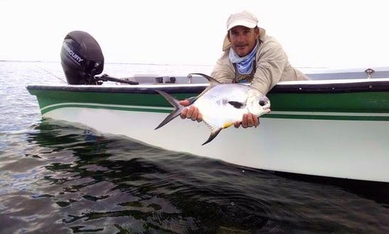 Guided Flat Fishing Trips In Honduras