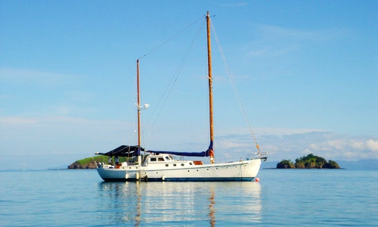 65' Motor Sailing Yacht Charter In Coco, Costa Rica