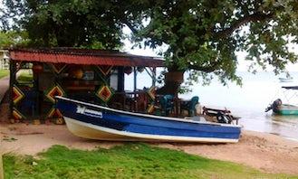 Enjoy Fishing in Corn Island, Nicaragua on Jon Boat