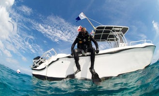 Diving in Boca Chica, Dominican Republic