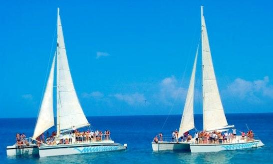 Charter 'free Style' Catamaran In Puerto Plata, Dominican Republic