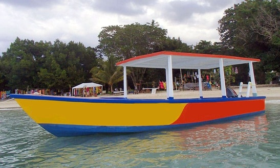 'sunbaby' Boat Snorkeling Tours In Negril River