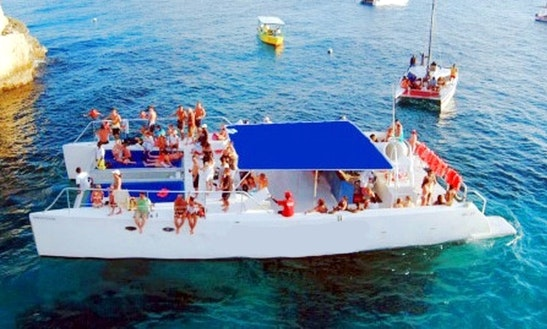 Wild-thing Catamaran Booze Cruise In Negril