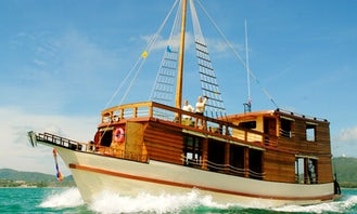 66 ft Gulet Charter for Up 40 People in Tambon Chalong, Thailand