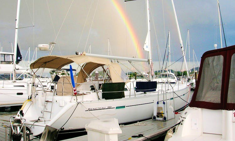 """Sailing Charter On 40ft """"Dream Catcher"""" Sailboat In Miami, Florida"""