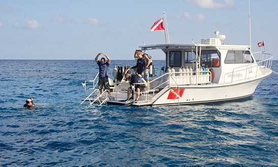 Passenger Boat Diving Trips In Cayman Brac, Cayman Islands
