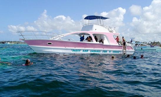 Charter 47' Power Catamaran In Punta Cana, Dominican Republic