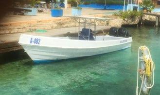 Fishing Trip in Oranjestad, Aruba on Center Console for 6 People