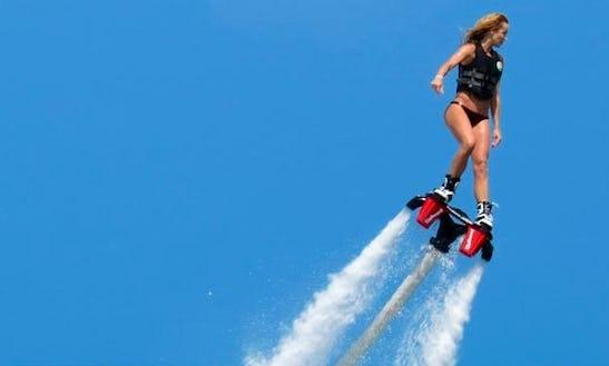Enjoy Flyboarding In Sant Antoni De Portmany, Spain