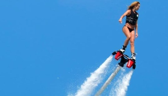 Enjoy Flyboarding In Sant Antoni De Portmany, Spain
