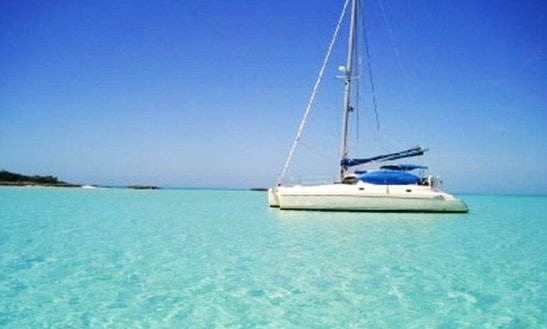 Crewed Catamaran In Exuma, Bahamas