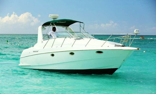 Enjoy Turks And Caicos Islands On 32' Motor Yacht