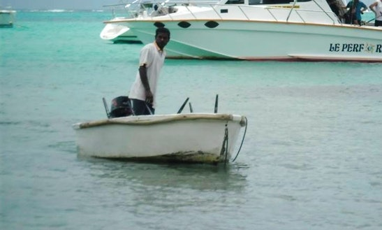 Enjoy Fishing In Grand Baie, Mauritius On Dinghy