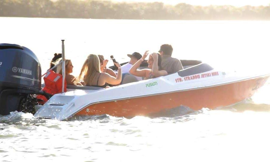 Enjoy Speed Boat Rides in South Stradbroke, Australia