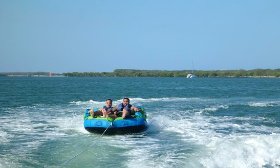 Enjoy Tubing In South Stradbroke, Australia