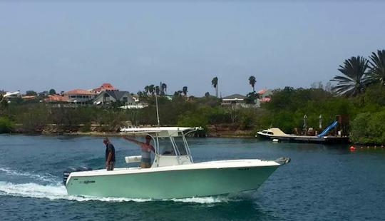 Enjoy Fishing In Kralendijk, Caribbean Netherlands On Center Console
