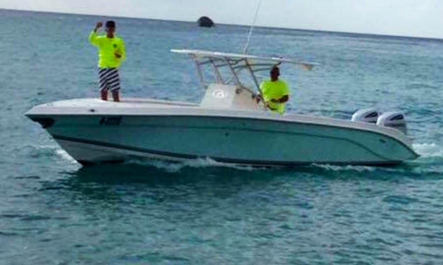 Fishing Tour in Oranjestad, Aruba on Center Console