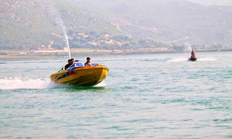 Rent this Yellow Speed Boat in Khyber Pakhtunkhwa, Pakistan