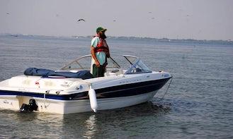 Rent a Bayliner Bowrider in Karachi, Pakistan