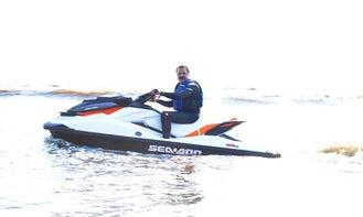 Rent Seadoo branded Jet Ski in Karachi, Pakistan for $170 a hour