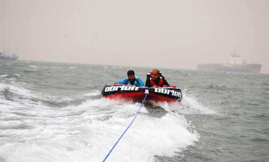 Enjoy Tubing In Karachi, Pakistan