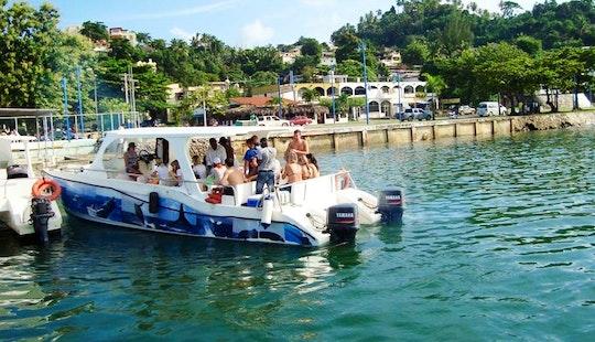 Power Catamaran Tours In Samaná, Dominican Republic
