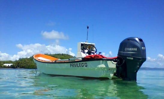 Rent A Boat Tour For 4 Person In Le François, Martinique