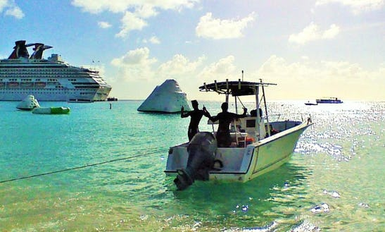 True Fishing Experience In Cockburn Town, Turks And Caicos Islands On Center Console