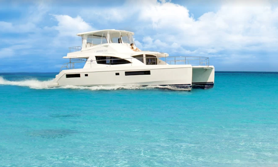 Charter 51' Leopard Power Catamaran In Collectivity Of Saint Martin, Saint Martin