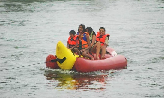Have Fun In Aluthgama, Sri Lanka On A Tubing Ride!