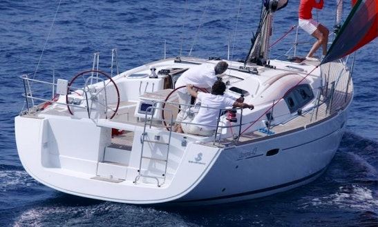 Charter 43' Cruising Monohull In Ibiza, Spain
