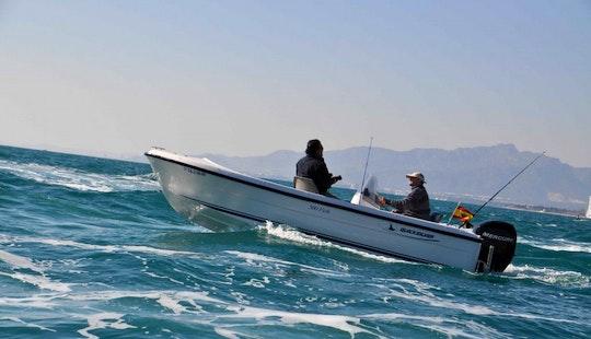 Enjoy Fishing In Cambrils, Spain On Llobarrete Vii Jon Boat
