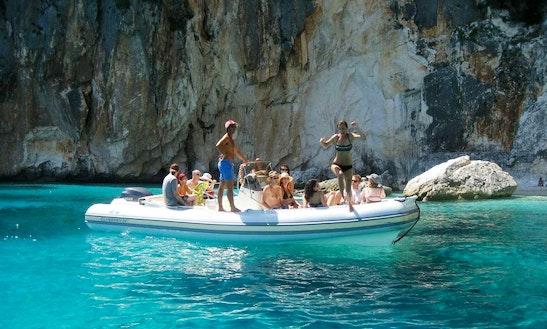 Charter A Rigid Inflatable Boat In Dorgali, Italy