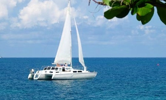 Freestyle Catamaran Sailing Party In Jamaica