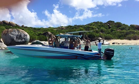 Charter A Center Console In Tortola, British Virgin Islands