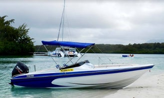 Charter a Bowrider in Grand River South East, Mauritius
