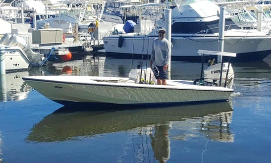 Enjoy Fishing In San Juan, Puerto Rico On 16' Hewes Red Fisher Center Console