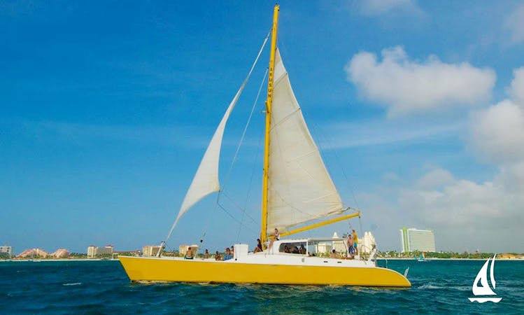 "Charter the 65ft ""The AruSun"" Sailing Catamaran In Noord, Aruba"