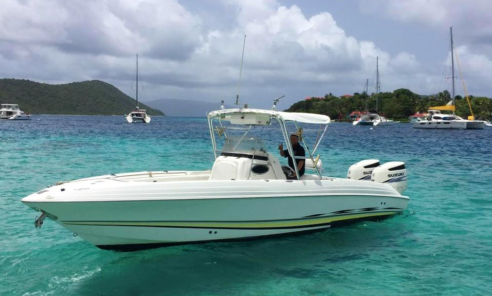 Charter a Center Console in Leonards, British Virgin Islands