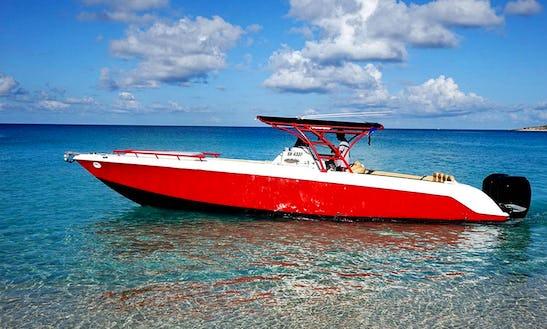 Donzi 38 Boat Charter In Sint Maarten
