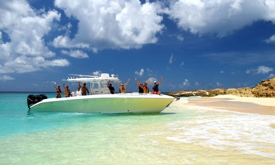 Midnight Express Boat Charter In Sint Maarten